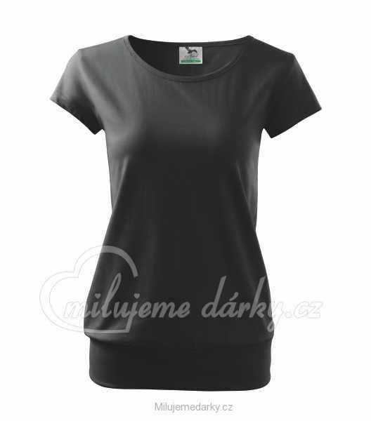 dámské volnější triko City 150 s lodičkovým výstřihem 387aa41371