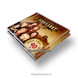 CD + DVD - Schovanky 40 let live