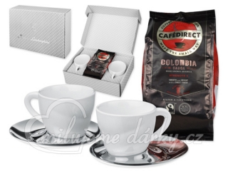 BRANDYS SET, set of 2 cups and coffee